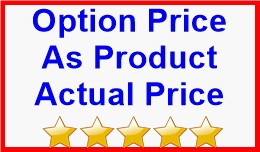 Option Price As Product Actual Price