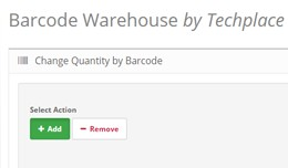 Barcode Warehouse - Easy Quantity Management