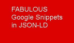 FABULOUS OpenCart Google Rich Snippets Plugin