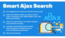 Smart Ajax Search - Responsive, Auto-Complete, S..
