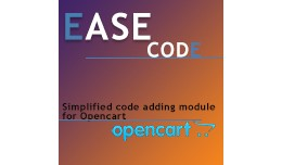 Ease code - simplified code adding module