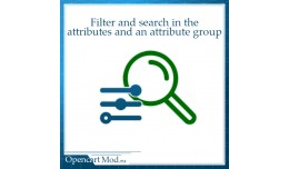 Filter and search in the attributes and an attri..