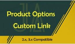 Product Options Custom Link