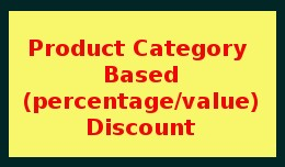 Product Category Based Discount