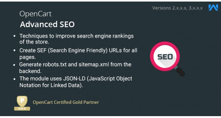 Opencart SEO Extension