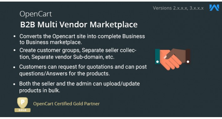 Opencart B2B Multi Vendor Marketplace