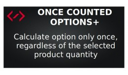 Once Counted Options+