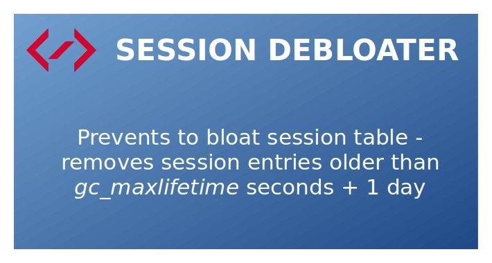 Session Debloater