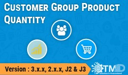 Customer Group Product Quantity