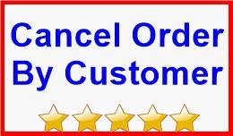 Cancel Order By Customer