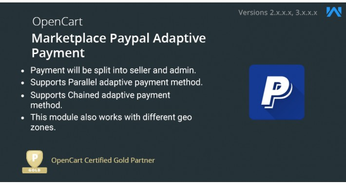 Opencart Multi Vendor Marketplace Paypal Adaptive Payment