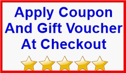 Apply Coupon And Gift Voucher At Checkout