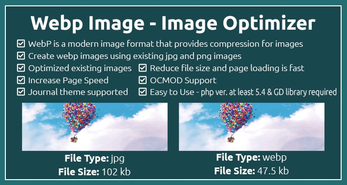 Webp Image Converter - Image Optimizer