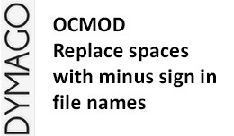 Automatically replace spaces in file names