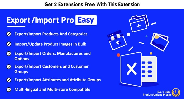 Export/Import Pro Easy - Add, Update Products via Excel
