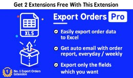 Export Orders to Excel Pro + Auto Email Order Re..