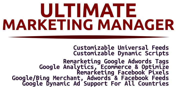 -10$ DISCOUNT Ultimate Marketing Manager (Feeds & Tags)