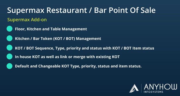 Restaurant & Bar POS