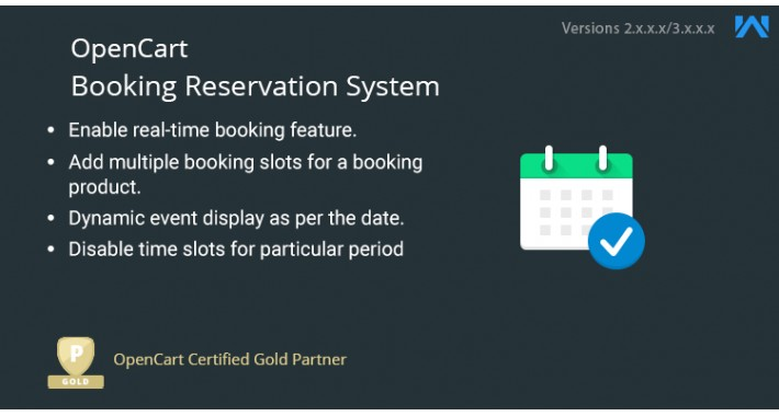 Opencart Booking and Reservation System