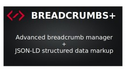 Breadcrumbs+ (product path, JSON-LD)