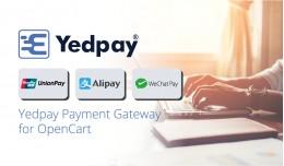 Yedpay for OpenCart ( Unionpay ExpressPay, Alipa..
