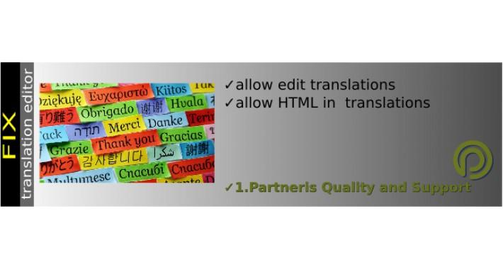 Language Editor FIX OC3