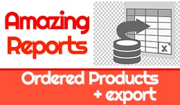 The Amazing Ordered Products Reports