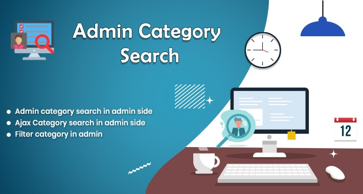 Admin Category Search
