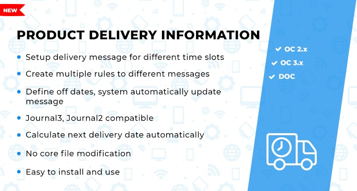 Product Delivery Information