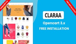 Claraa Fashion Multipurpose Theme (Free installa..