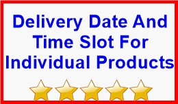 Delivery Date And Time Slot For Individual Produ..