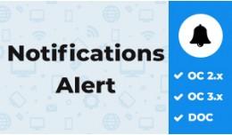 Notifications Alert