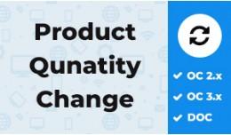 Product Change Quantity