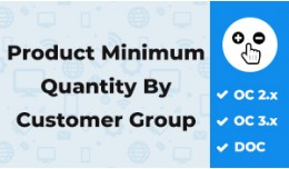 Product Min Qty By Customer Group