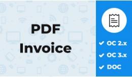 Order PDF Invoice