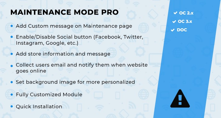 Maintenance Mode Pro