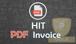 Order Invoice & Shipping Slip in HIT PDF For..