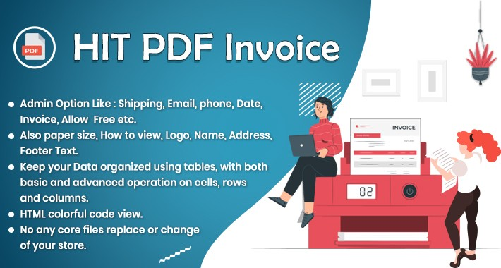Order Invoice & Shipping Slip in HIT PDF Formate