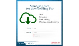 Managing files for downloading Pro