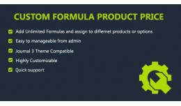 Custom formula for Price Calculation