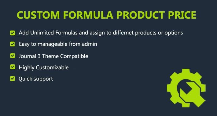 Custom formula for Price Calculation