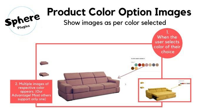 Product Color Option Images PRO