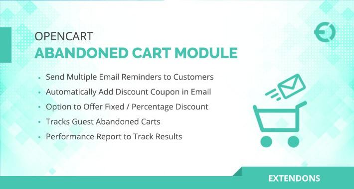 Opencart  Abandoned Cart Module