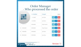 Order Manager - Who processed the order