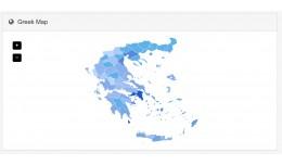 Greek Map in admin