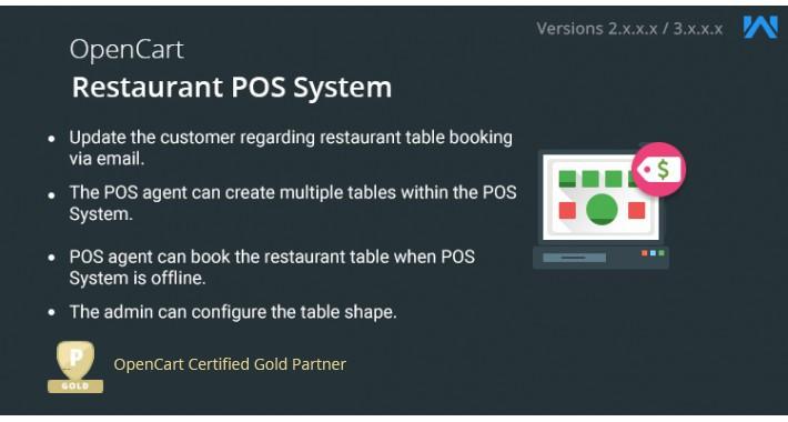 OpenCart Restaurant POS System