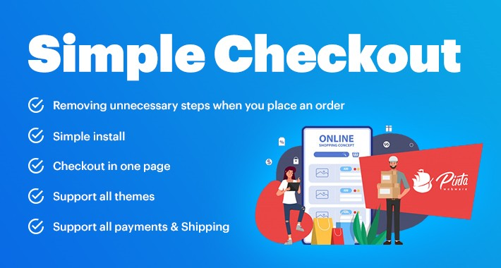 Simple Checkout for OpenCart 1.5-3.x