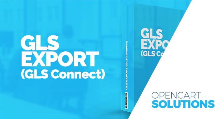 GLS Export (GLS Connect) OC 2.x.x