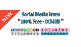 Social Media Icons Pro For Free
