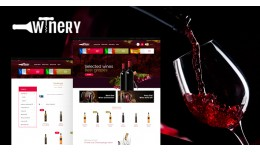 Winery Wine Multipurpose Responsive Opencart 3.x..
